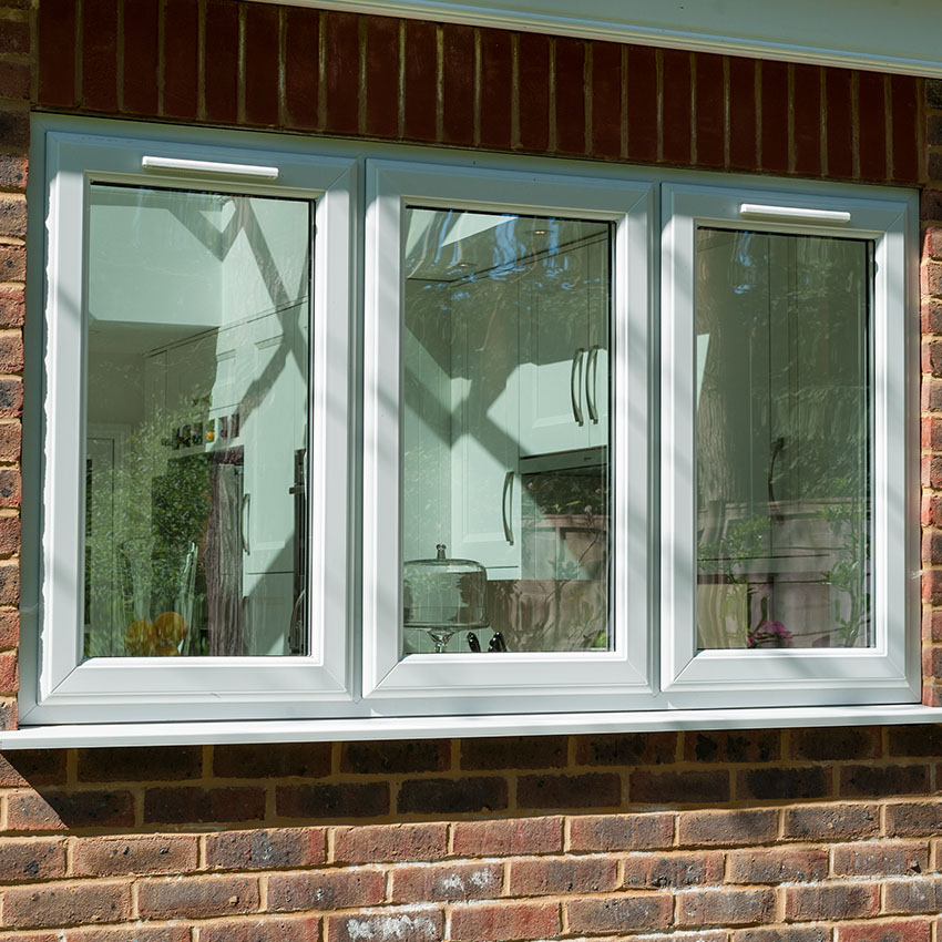 White uPVC Casement Window