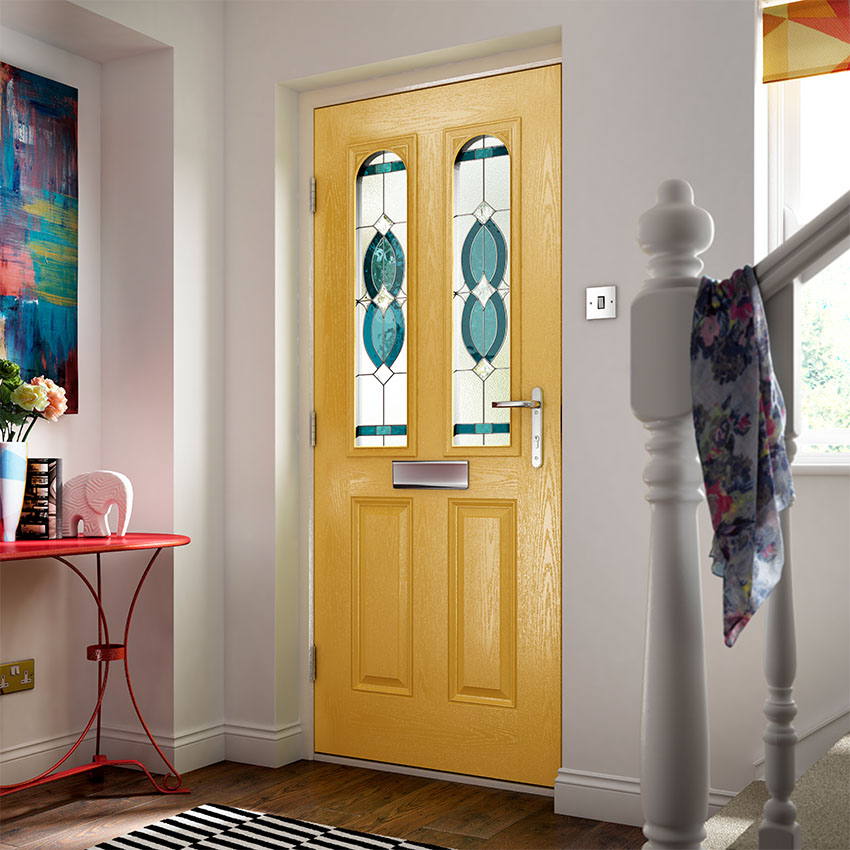Yellow Composite Door Buckinghamshire