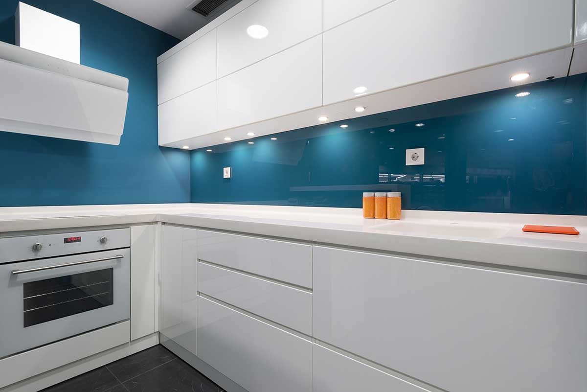 Modern Glass Kitchen Walls and Splashbacks Wycombe